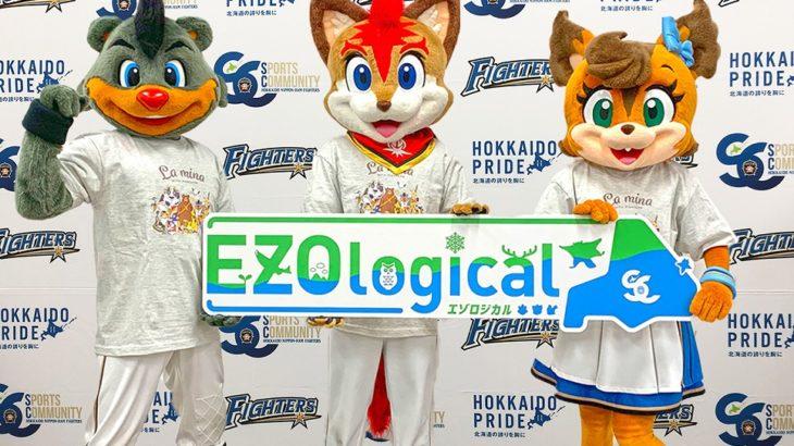 日本ハム マスコットたちが環境保全に立ち上がる「EZOlogical(エゾロジカル)」始動!  グッズ購入で社会貢献も
