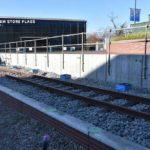 メットライフドームエリア改修工事トピックス③ メットライフドームに本物の線路!ここに来る西武鉄道の車両はどれだ?